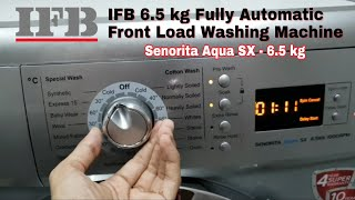 IFB 6.5 kg Fully Automatic Front Load Washing Machine ( Senorita Aqua SX - 6.5 kg ) | IFB |
