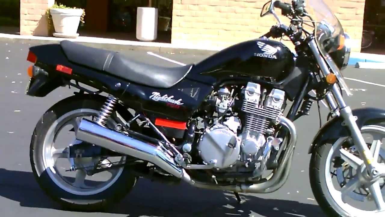 Used Honda Motorcycles >> Contra Costa Powersports-Used 1993 Honda CB750 Nighthawk motorcycle - YouTube