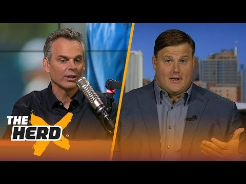 Richie Incognito joins Colin to talk 2017-18 Bills, Tom Brady and more | THE HERD