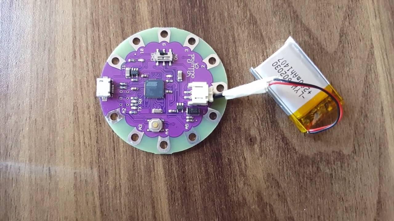 Lilypad arduino usb ürün inceleme youtube