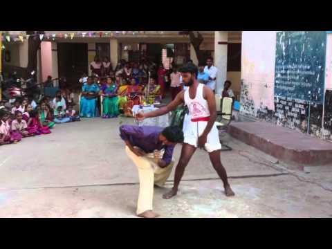 Varmakkalai speed movement fight Velmurugan Manja varmakkalai in Madurai Tamilnadu