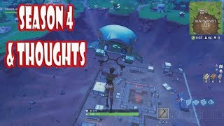 Best Fortnite Player on Mars Plays Season 4 and Gives Thoughts