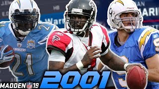 2001 NFL Draft in Madden 19!
