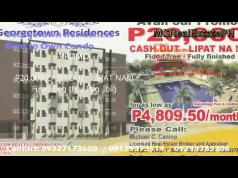 Condo near grass residences forum Georgetown Residences PAG IBIG Rent to Own Condo 09327173600