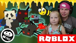 MOWER and ants, OUCH-Bee Swarm Simulator | Roblox | Daddy and Yohana CZ/SK