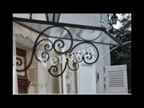 Pensiline In Ferro Battuto By Anticaforgia Di Cristiano