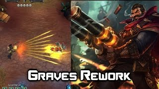 Graves Rework - Marksman Update - League of Legends