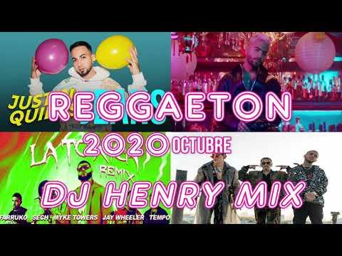 MIX REGGAETON OCTUBRE 2020 / LOS MEJORES ÉXITOS / DJ HENRY MIX