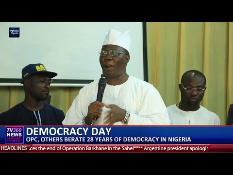 OPC, Others berate 28 years of Democracy in Nigeria