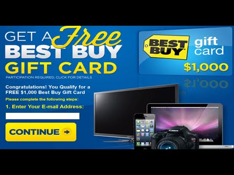 Best Buy Gift Card –  Best Buy Coupons – How To Get Free Best Buy Gift Card FREE
