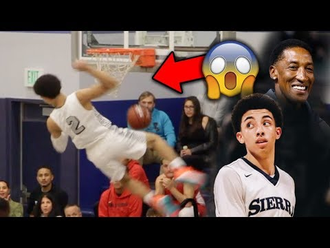 Scottie Pippen Jr, Cassius Stanley, KJ Martin Put on a DUNK CONTEST in GAME! SIERRA CANYON GOING OFF
