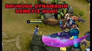 MOCKER BRUNO ALDI DİYE TROLLEDİLER (TAŞIDIM) - MOBİLE LEGENDS