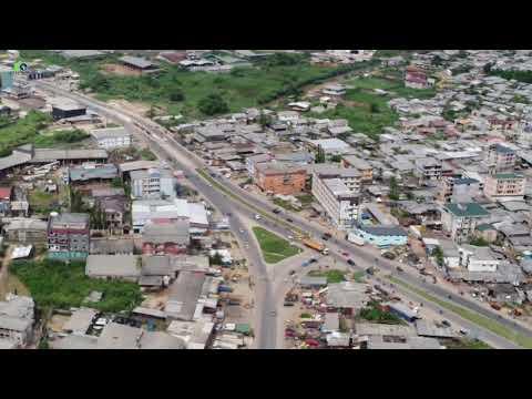 Douala-Bonamoussadi Beautifull 4K Sky view