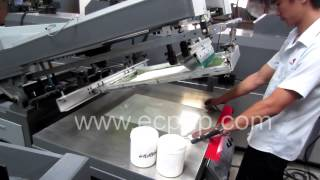 Flat Silk Screen Print Flat Screen Printing Plane Screen Printer