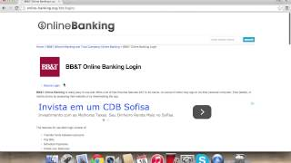 BB&T Online Banking Login | How to Access your Account