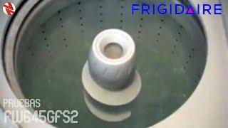 Lavadora Frigidaire Gallery FW645GFS2 En Pruebas de Mantenimiento.