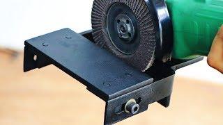 Make A Angle Grinder Attachment || Angle Grinder Hack