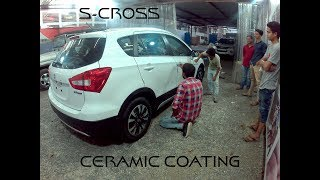 Ceramic Coating On Car | Full process | step by step | S-Cross