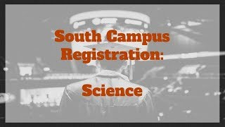 Science - South Campus