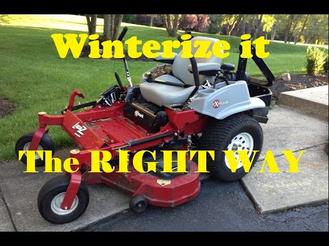 How To Properly Winterize A Lawnmower