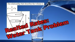 Related Rates: Water Tank Problem