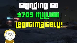 GTA Online Grinding To $703 Million Legitimately And Helping Subs