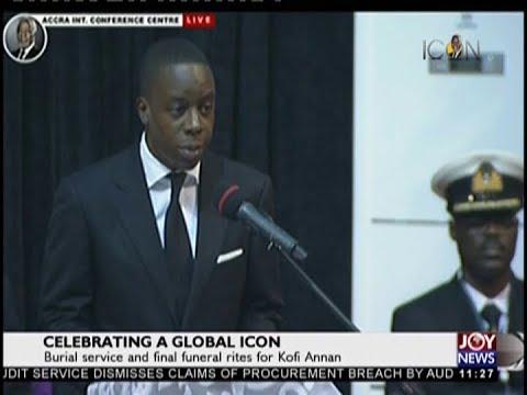 Kofi Annan's Son Shares Memories Of His Dad - JoyNews (13-9-18)