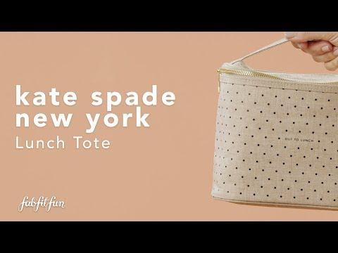 Kate Spade New York Lunch Tote | Spoiler Alert | Inside The FabFitFun 2019 Fall Box