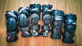 Leatt Knee Braces - Testing out C, X and Z Frame