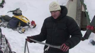 How to Tow a Dead Snowmobile - Riding Tip