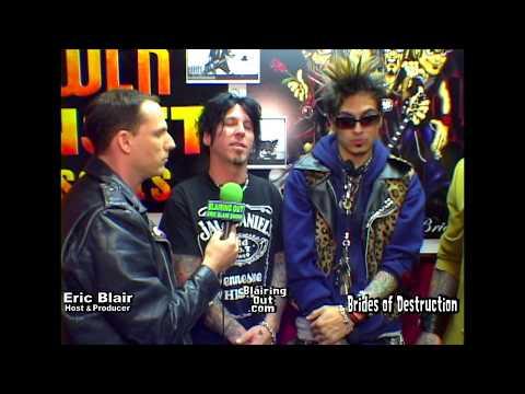 Nikki Sixx ,Tracii Guns & Eric Blair talk...