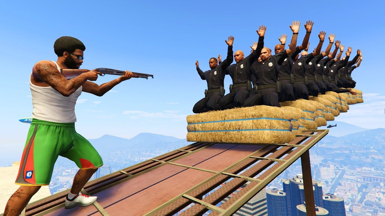 GTA 5 Brutal Compilation(GTA V Die exhausting Humorous Moments Fail Thug life)