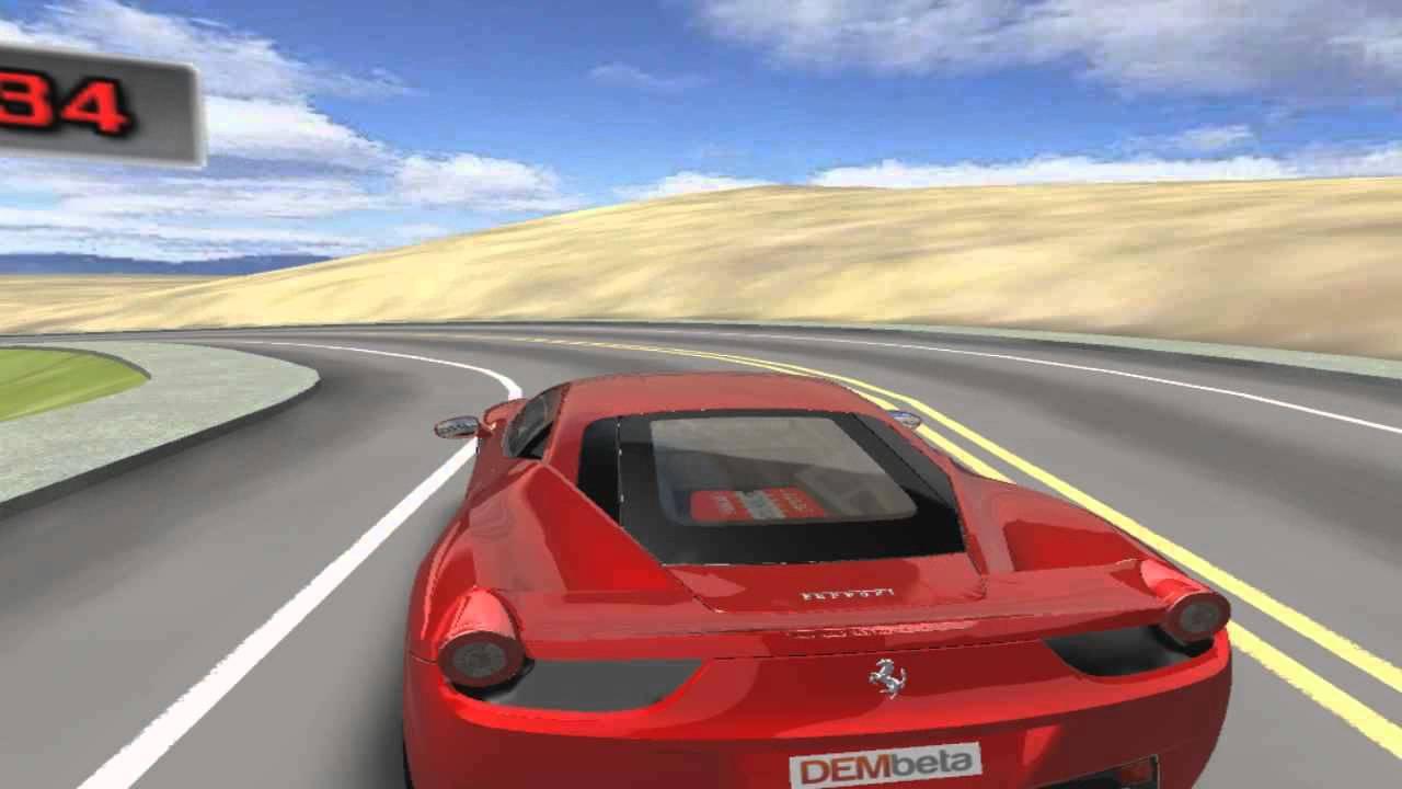 Play Ferrari Test Drive Free Car Games To Play Online