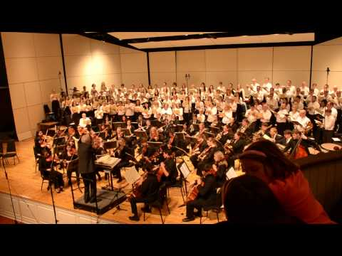 Bryn Mawr and Haverford College Chorale and Orchestra 2014 F
