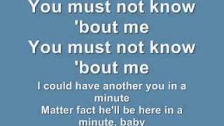 I DO NOT OWN THIS SONG NOR DO I INTEND COPYRIGHT Lyrics to beyonce ...