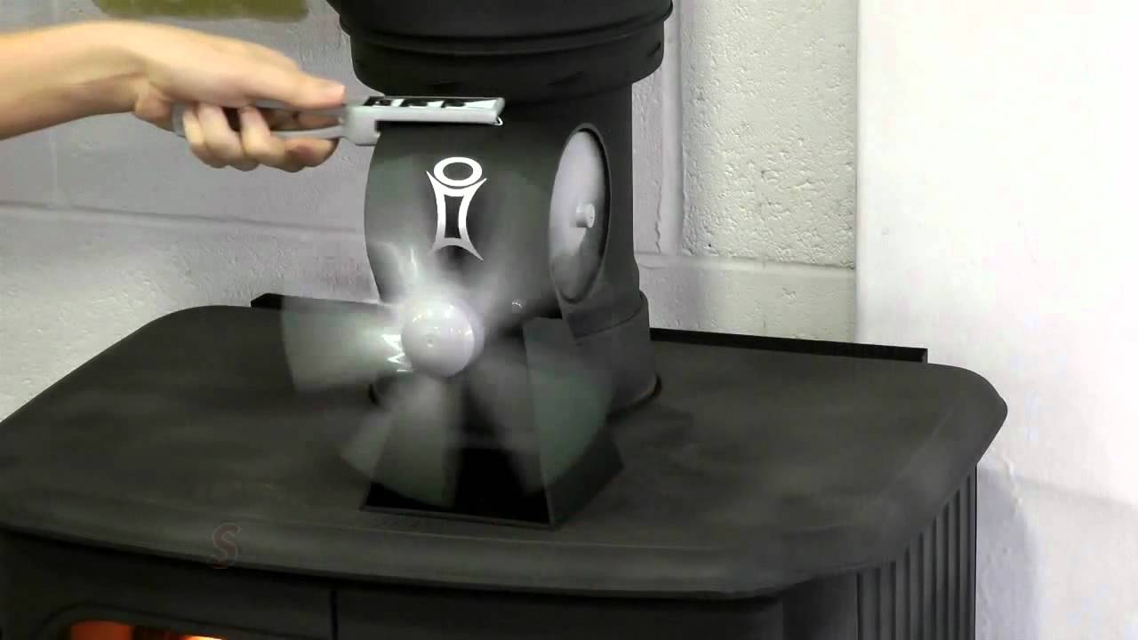 - SmartFan Thermo Electric Stove Fan - YouTube