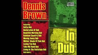 Dennis Brown - Left With A Broken Heart Version