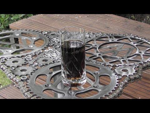 Scrap Metal Garden Table