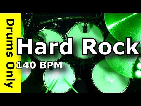 Hard Rock Drum Beat 140 BPM - JimDooley.net