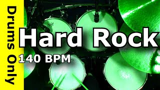 Hard Rock Drum Beat 140 BPM - JimDooley.net