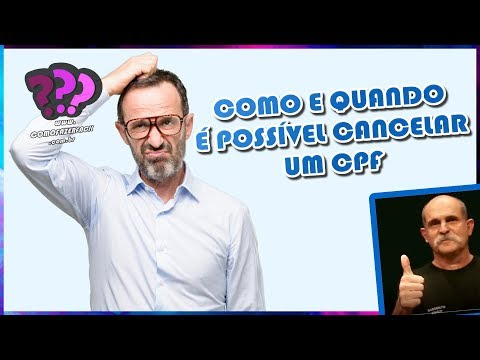COMO CANCELAR CPF | Como Fazer Fácil