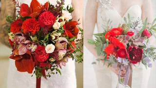 الورد الأحمر لطلة مميزة ليلة زفافك