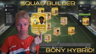 Squad Builder | Bony Hybrid! - LIVE GAMEPLAY ft. FACE CAM Thumbnail