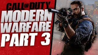 "Call of Duty Modern Warfare Gameplay Walkthrough Part 3 -  ""Stacy"" (Let's Play)"