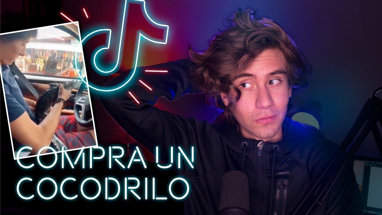 TIKTOKER COMPRA UN COCODRILO - Ian Plata