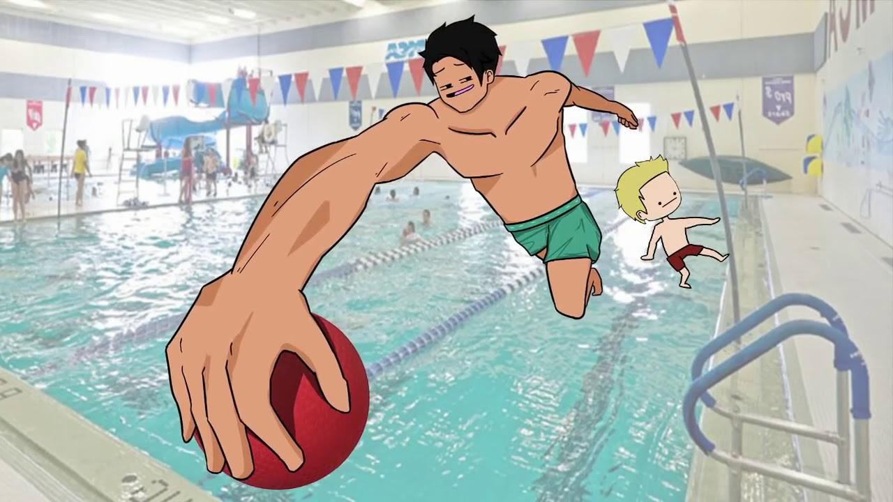 Уничтожение Детей в Моём Классе по Плаванию
