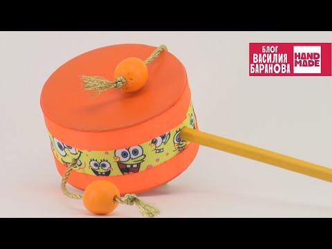 Музыкальный инструмент в детский сад своими руками