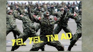 KEREN!! Yel Yel TNI Paling Di Takuti Dan Di Segani