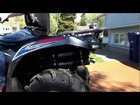 Muzzy Super Pro dual exhaust
