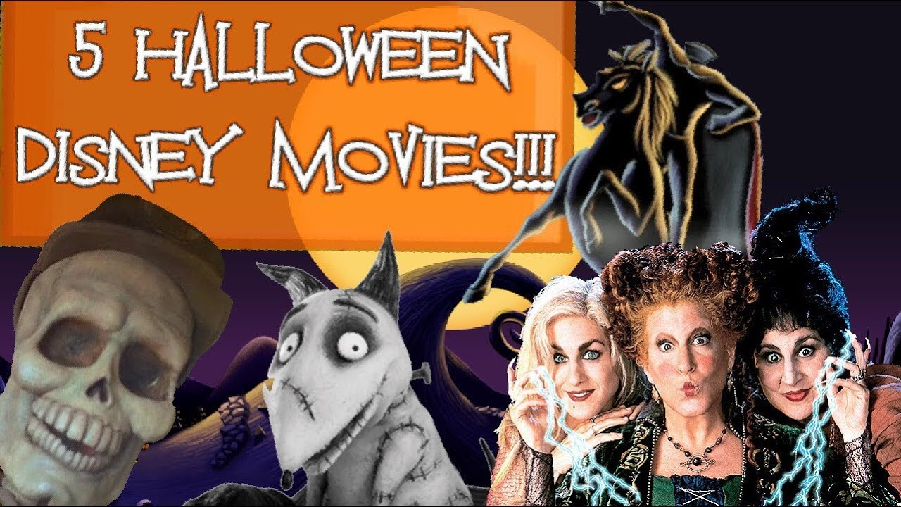5 MUST-SEE HALLOWEEN DISNEY MOVIES!!! - YouTube